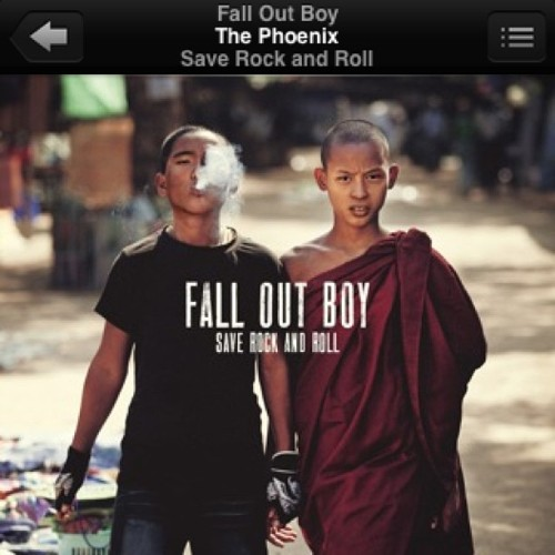 First song I ever bought on iTunes. Only right that it's from #falloutboy . Got this song on repeat all day. Can't wait for the drop. Marked it on my calendar. #fanforlife #saverockandroll #preordered #bumbthisinbasic
