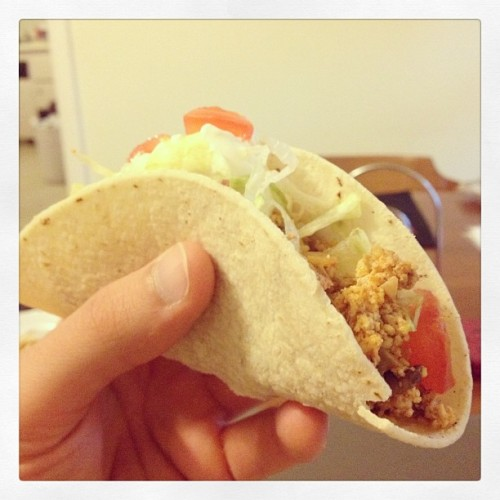 Dat soft taco. #SoftTacoSunday