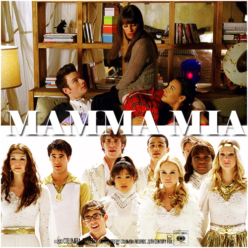 4x17 Guilty Pleasures | Mamma Mia Requested Alternative Cover Request by bribed-with-dots
