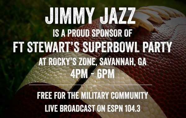 Free event for Military Families in Georgia…. Superbowl Party at Ft Stewart