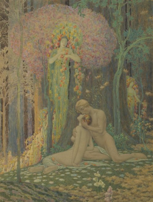 vueloenalphas:  commovente:  Charles Holloway, 1922  i want this BIG on a wall in my house