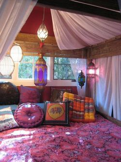 Lovely Boho bedroom ♡ Sweet dreams