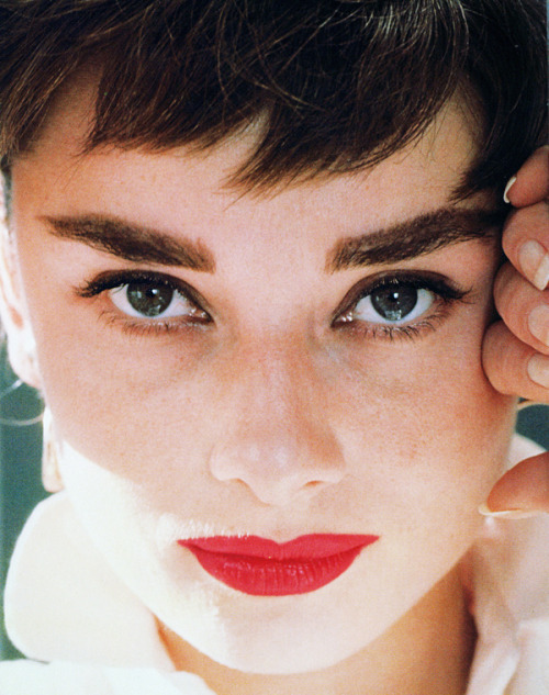 Audrey Hepburn photographed by Bill Avery, 1954