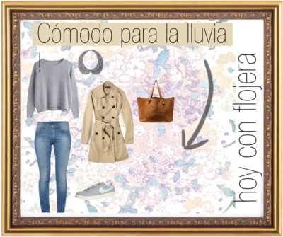 Flojera mas mil por mugloxa con french connectionMerona trench coat / French Connection  / NIKE  trainer, $130 / Forever 21  / Basic Grey 12X12 Paper Soleil Collection Lavender Lemonade