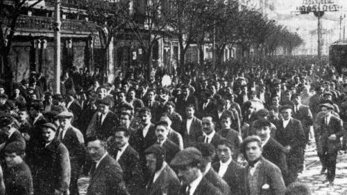 "anarcho-queer:  La Canadiense Strike: How Spanish Anarchists Led Spain To Pass The World's First 8 Hour Work Day Law A short history of the Barcelona general strike of 1919 which began after the sacking of eight workers, and ended up as one of the most successful working class actions in history. In February of 1919, eight workers from the maintenance department of a Canadian financed hydroelectric plant in Barcelona colloquially known as 'La Canadiense' were laid off for political reasons. These layoffs were to spark the most successful strike action in Spanish labour history. The strike, led by the anarcho-syndicalist union, the Confederación Nacional del Trabajo (CNT) led to a city-wide general strike in Barcelona, involving more than 100,000 workers and became the most successful action in Spanish labour history, forcing the Spanish government to pass the eight hour day law, the first government in the world to do so. By 1919, membership of the CNT had swelled to about 755,000 (as declared at the unions Madrid conference of that year), far ahead of its socialist rival union, the Union General de Trabajadores (UGT), whose membership was about 208,000 at that time. Roughly speaking, about 10% of the active Spanish adult population was a member of the CNT in 1919. After the initial layoffs by the bosses at La Canadiense in early February, 140 workers walked out on February 5th and three days later were joined by the vast majority of plant employees. Workers at another Barcelona plant were staging a sit-in in support of their comrades and about a week later, on February 17th, 80% of workers in the textile industry walked out, as well as striking in support of the laid off workers at La Canadiense, the textile workers demanded a recognition of their union, and a recognition by the authorities of the eight hour day. Soon after, the majority of other electrical workers in the city declared themselves of strike, also demanding a wage increase. On February 21st, a citywide general strike of power workers was called, leading to the closure of 70% of firms in Catalonia. Fearing the growing power of the working class in Barcelona and the economic stagnation the strike was bringing, the Captain-General declared martial law in the city. The Madrid authorities then declared a state of emergency, and in an attempt to break the strike, called up all workers to the army. This call, of course, was ignored by the strikers, and the print workers even refused to print any information about the call-up, or for that matter, anything that reflected negatively on the strikers - enacting ""red censorship"". Following this, the railway and tram workers also declared themselves on strike. Under the state of martial law in the city, almost all CNT officials were arrested alongside 3,000 strikers. However, the authorities in Barcelona were panicking and the economic situation in Catalonia was becoming too desperate for concessions not to be made to the workers. On the 15th and 16th of March, negotiations began between the union and the authorities, Salvador Segui, the Regional Secretary of the CNT demanded a maximum working day of eight hours, union recognition, the reinstatement of all fired workers and called for a general strike to take place from March 24th, lasting until April 1st. The authorities quickly conceded to all demands. The CNT also demanded the release of all prisoners, which was agreed to by the government, apart from the release of prisoners who were currently of trial. The workers responded with shouting, ""Free everybody!"" and threatened that the strike would continue in another three days if the prison gates were not opened. This did happen, but the members of the strike committee were swiftly arrested and the police effectively stopped the strike gaining the momentum of the first. Soon after, tens of thousands of workers returned to their jobs, and an eight-hour day. Through the incredible solidarity of the Barcelona working class, all demands of the strikers had been met by the authorities, as well as wage increases in some industries. To this day, the Barcelona general strike of 1919 remains the most successful strike action ever to have taken place for the cause of Spanish labour."