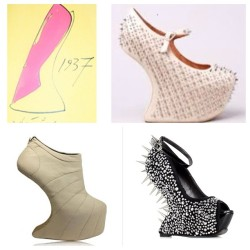 Flashback #Friday- #fashion The #heelless shoe was actually #born in 1937, created by Andre Perugia!#iheartmashoes #moda