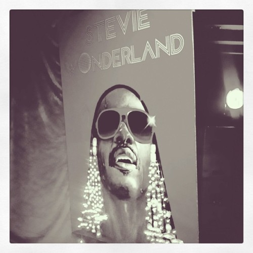 Stevie wonderland #vscocam #stevie (at The Roadhouse)