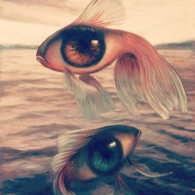 Check the eye-fish! #eye #eyes #fish #sea #love #animal #surreal #art #igers #iglove #igdaily #instacool #iphonesia #instadaily #instafashion #instagramhub #instagrammers #water #world #webstagram #picoftheday #photooftheday #bestoftheday