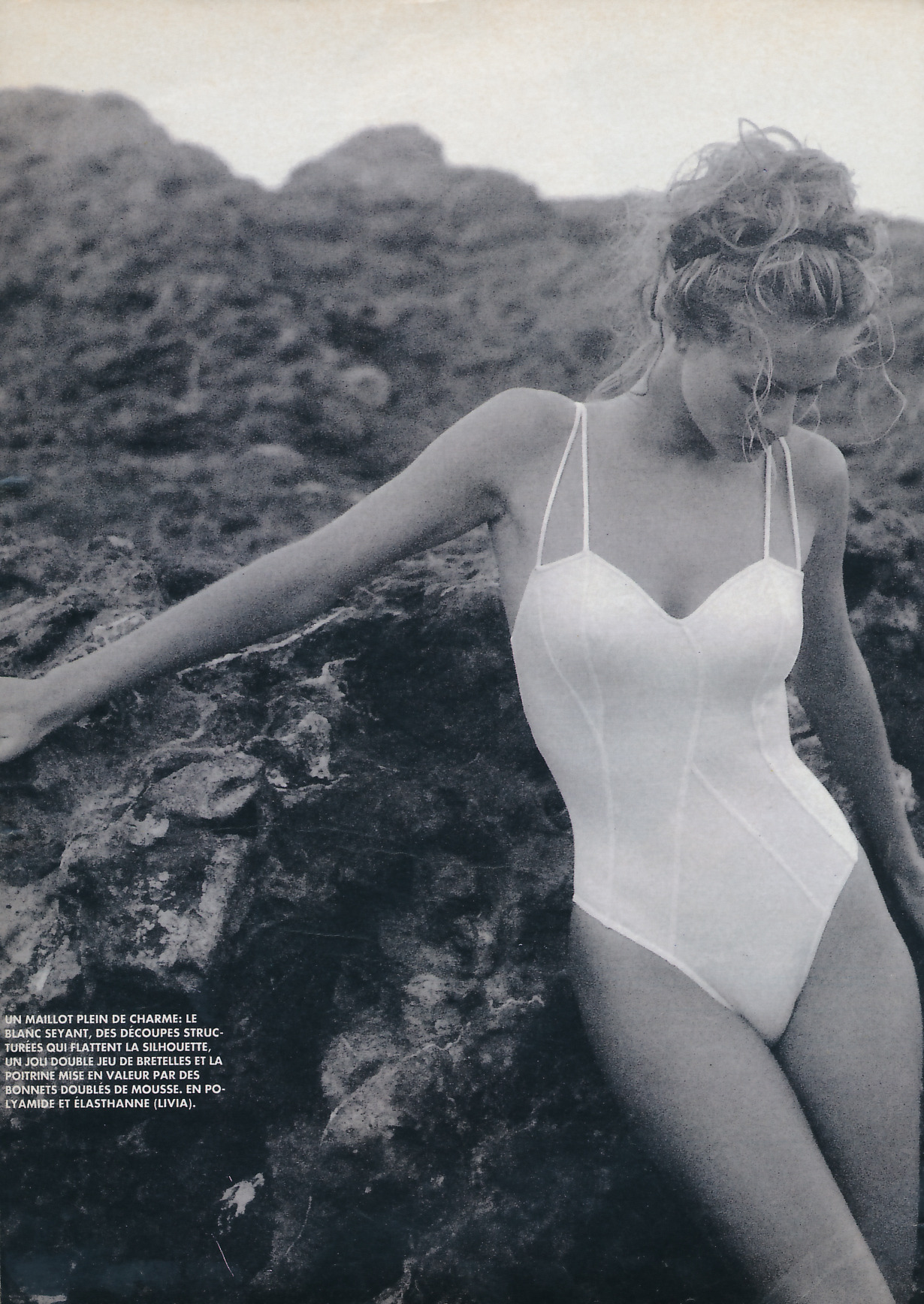karen-mulder:   Belle en maillot -Marie Claire France (early 90s)Model: Karen Mulder