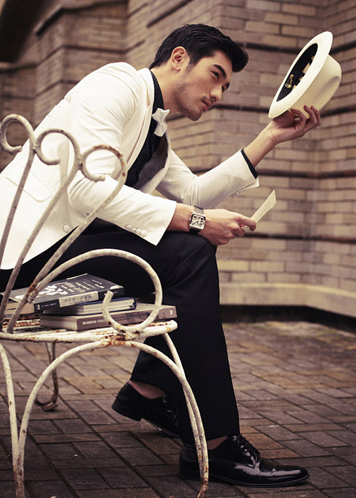 searchingforknowledge:   Godfrey Gao for GQ Taiwan April 2013  DAMN. When is that movie of his coming out again?