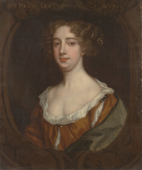 Aphra Behn - English writer and spy. Aphra was one of the first woman to earn a livelihood as an author.