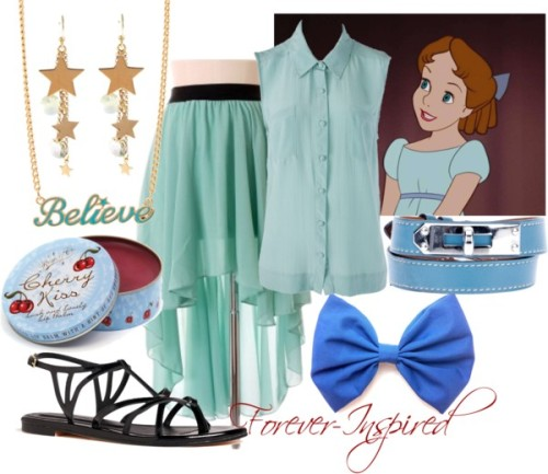Wendy Darling by forever-inspired featuring hair bow accessories