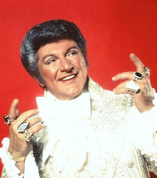 I'm the reincarnation of Liberace