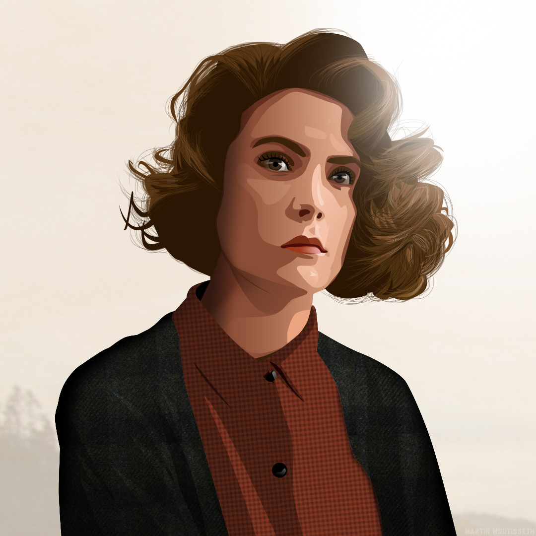 Twin peaks illustrated - Donna Hayward by Martin Woutisseth