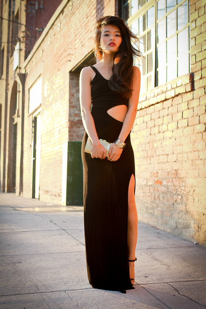 Olivia Lopez does it better in the Moonshadow Maxi Dress
