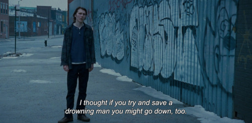 "anamorphosis-and-isolate:  ""I thought if you try and save a drowning man you might go down, too."""