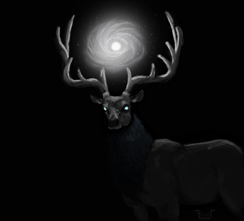 I keep having weird elk dreams. Might as well sketch them out