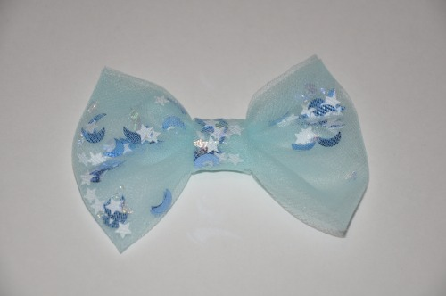 Our Blue Stars bow from our Faerie Collection :3. Don't forget to enter for our current giveaway as well!