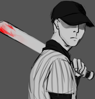 i drew a quick batter after a long night of off