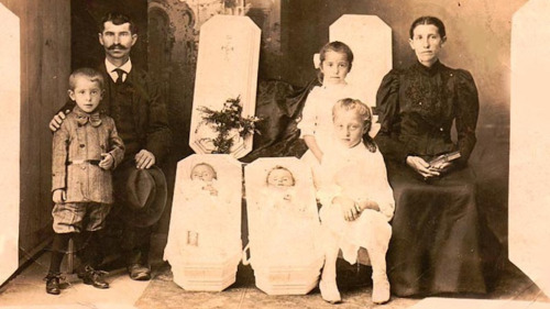The Strangest Tradition of the Victorian Era: Post-Mortem Photography    After the invention of daguerrotype, the memorializing habits of people have changed: they've chosen the cheap, higher quality photographs instead of expensive and not so lifelike paintings. Painting dead people was common for centuries, so it's no surprise that, in the Victorian Era, post-mortem photos also came into fashion. Here are some of the strangest ones.  (Source: io9)