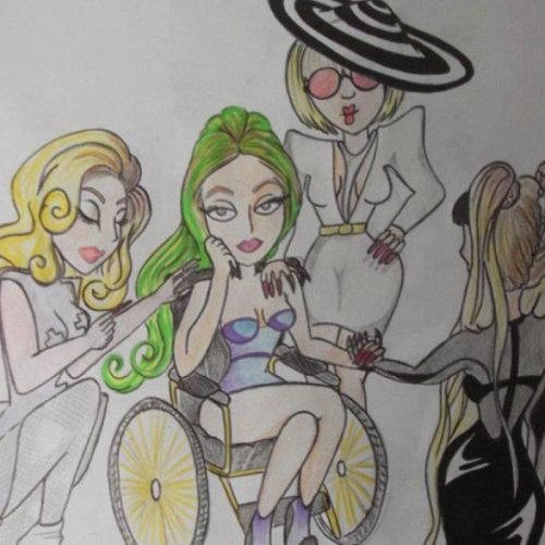 The Fame, The Fame Monster and Born This Way caring for the ARTPOP era.