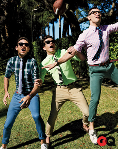gqfashion:  Fun. for GQ