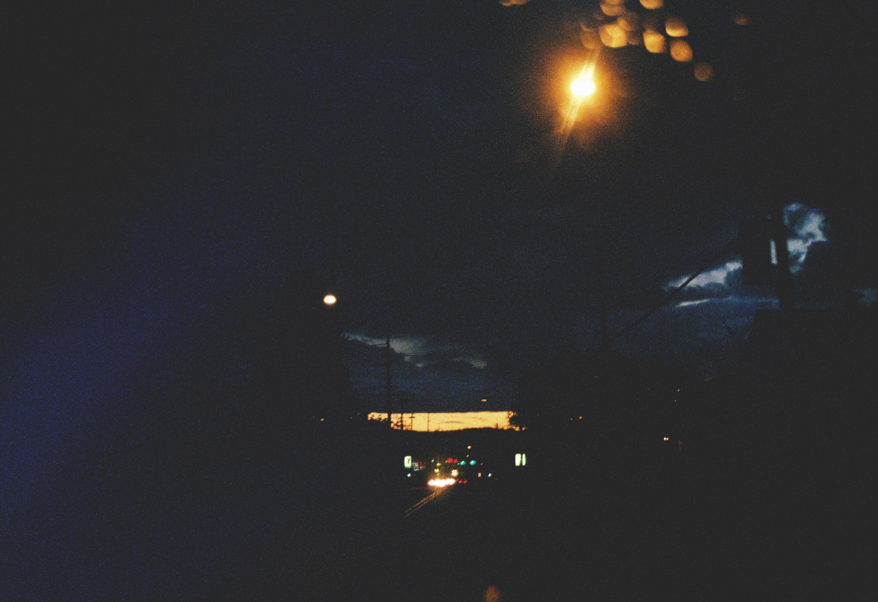 night fall. pdx olympus om-1