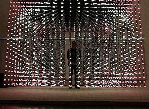 laughingsquid:  Deep Screen, An Interactive Matrix of 6,000 Lights