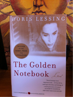 STAFF PICK (15% OFF!) - The Golden Notebook by Doris Lessing This always seemed like one of those great books you're supposed to read. It's like when I was a kid and we'd have Brussels sprouts for dinner. The frozen kind. First time I had fresh Brussels sprouts, it was a REVELATION. That is what reading this book is like. I was blown away by how brilliant Doris Lessing is. How completely insightful. How elegantly she picks apart the complexities of human nature. How she does it all in a way that is utterly riveting. I couldn't put it down, couldn't wait to read everything she had to say about the joys and sorrows and mysteries of being alone, of colliding with desire and love, of living.  (Annie)