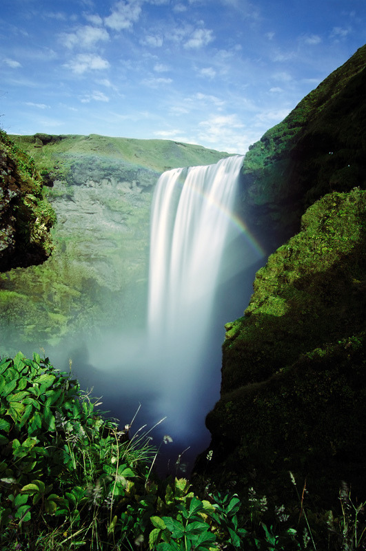 mystic-revelations:  Skógafoss Above (by jamescharlick)