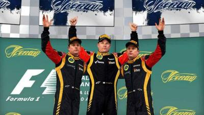 icemanmania:  Triple Kimi = Triple Sleep, Triple Race & Triple Party   ;)