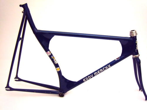 FIXED GEAR GIRL TAIWAN: eddy merckx frame