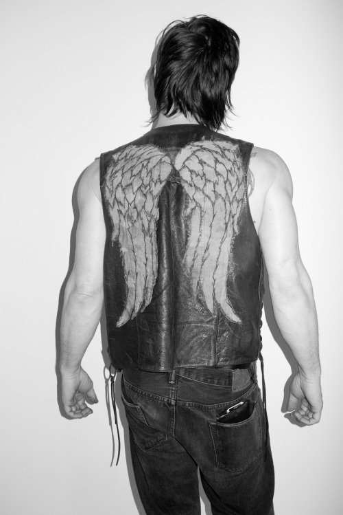 terrysdiary:  Norman Reedus at my studio #10
