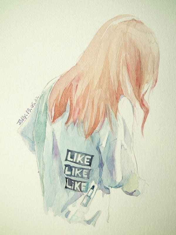 Taeyeon's back view by jellywing~