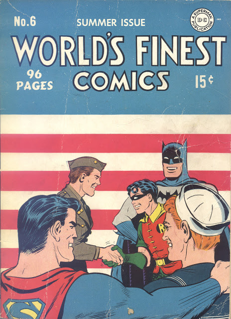 mikestand:  World's Finest # 6, Summer, 1942