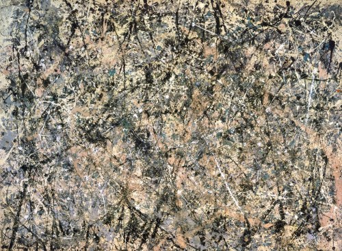 slcvisualresources:  Jackson Pollock - Number 1, 1950 (Lavender Mist)oil on canvas - 1950