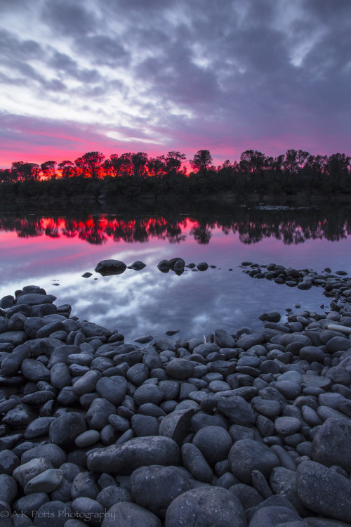 h4ilstorm:  Lake Natoma Afterglow (by A-scape)
