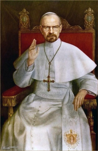 Pope Heisenberg the 1st