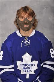 hockeymedo:  Grabovski should wear one of these next time he plays… Looks perfect for Hannibal Lecter wannabes ¬¬
