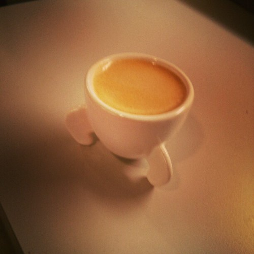 I am loving the 3D printed espresso cups we got for the USV office on Shapeways (at Union Square Ventures)
