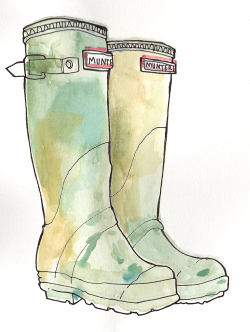 bambi - hunter - wellies Simon Abbott