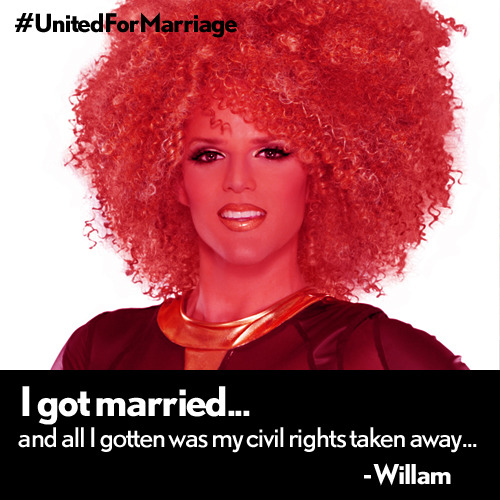 RE-BLOG if you hope all drag queens can get married!