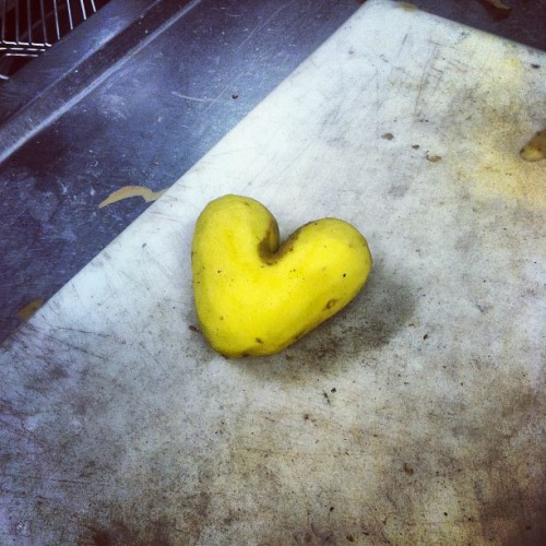 Potato heart at work :)!!