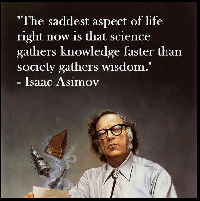 theweeklyansible:  Asimov remains for me the greatest science fiction author of the classical era.