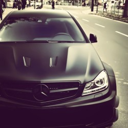 m0nster-life:  Sexiest looking car! #cars #picoftheday #black #likeforfollow #stancenation #amg