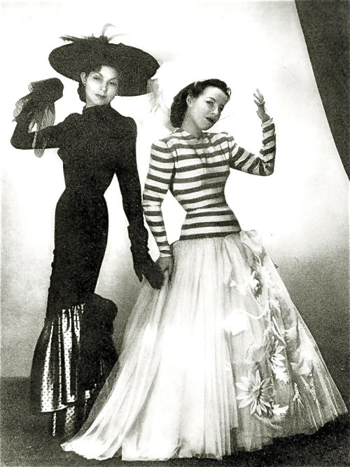 Jacques Fath designs, 1946