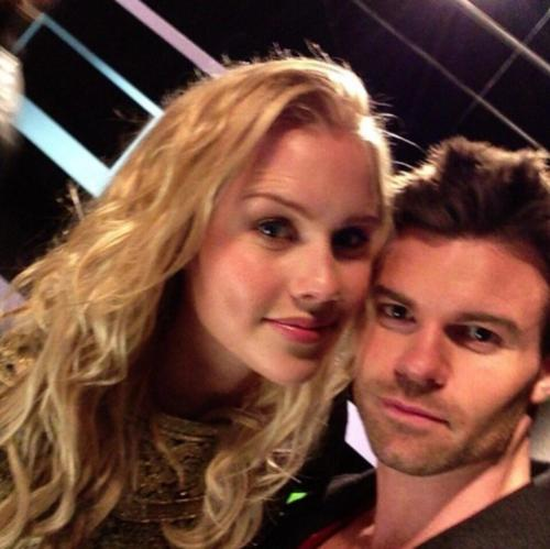 salvatoreobsessionn:  Daniel Gillies and Claire Holt at the CW for The Originals photoshoot!