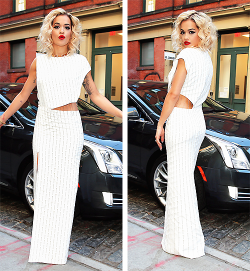 "Rita Ora attends the 2013 ""PUNK: Chaos to Couture"" Met Gala (May 6)"