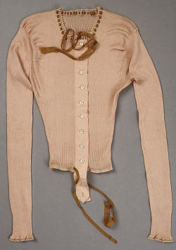 omgthatdress:  Undershirt 1885-1895 The Metropolitan Museum of Art