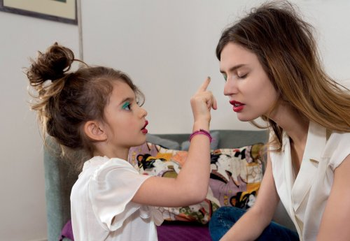 dulcetive:   BIANCA BALTI and her daughter MATILDE LUCIDI FOR GREY MAGAZINE 2013, photography MARTIN PARR  they are both gorgeous